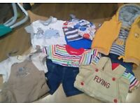 Baby boys 0-3 months clothing