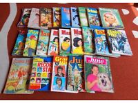 Large box of 1960s, 1970s & 1980s annuals (mostly girls) + 1 x 1952