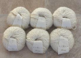 6 x 50g balls Rowan Silk Twist