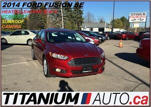 2014 Ford Fusion SEL+Camera+EcoBoost+Leather+Mytouch Microsft+Su London Ontario image 1