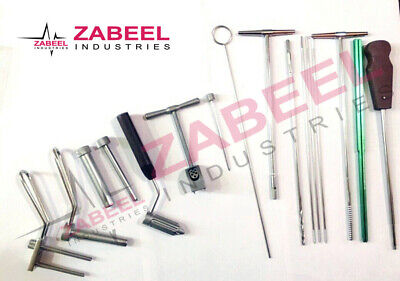 7.3mm Cannulated Orthopedic Instruments Set A Product Of Zabeel Industries