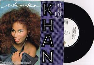 CHAKA-KHAN-EYE-TO-EYE-7-45-VINYL-RECORD-w-PICT-SLV-1985