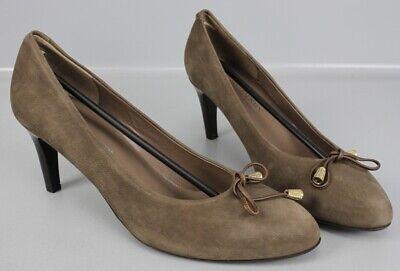 Moda Di Fausto Pumps braun Gr. 43,5 High Heels Vitello Bogota Moro...