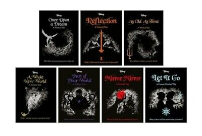 Disney Twisted Tales Collection 7 Books Set Let it Go, Mirror Mirror, Part of Yo