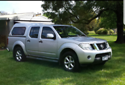 2013 D40 Nissan Navara St (4x4) Dual Cab P/up Morwell Latrobe Valley Preview