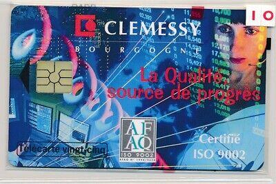 Télécarte 25 Unités HN89 Clemessy neuve sous blister ref T1772