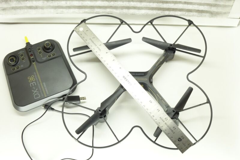Remote Quadcopter Drone Sharper Image Dx 3 With Camera Toys