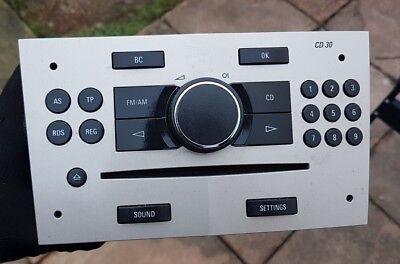 2004-2014 VAUXHALL CORSA ASTRA ZAFIRA RADIO CD PLAYER UNIT DELPHI GRUNDIG CD30  for sale  Shipping to Ireland
