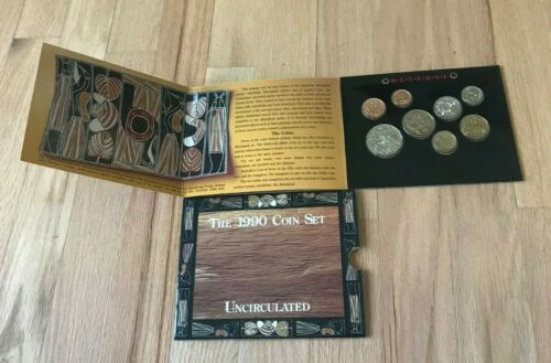 1990 Australia Uncirculated Coin Mint Set
