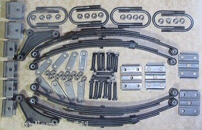 7,000  axle suspension kit. Incl. (4) 1750 lb springs and u-bolt kit ( trailer