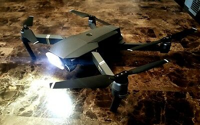 DRONE UAS LED Spill SPOTLIGHT 4 DJI MAVIC INSPIRE 1 PHANTOM QUADCOPTER LUME CUBE