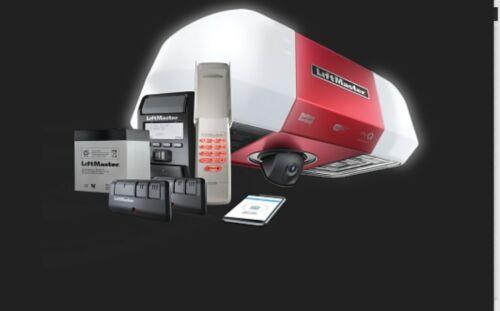 LiftMaster 85503 ELITE SERIES DC Battery Backup Belt Drive Wi-Fi Garage Door OPE