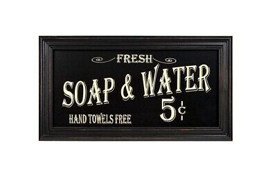 Vintage Bath Advertising Wall Art | Americana Collection | Bathroom Laundry Room
