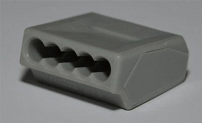 100 Dosenklemmen Wago 273-101 5fach für 0,75/1,0/1,5mm²
