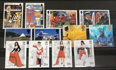 Cept 1998 - 5 Länder - GB, Jersey, Gurnsey, Isle of Man, Gibraltar image