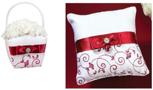 wedding flower girl basket or ring pillow
