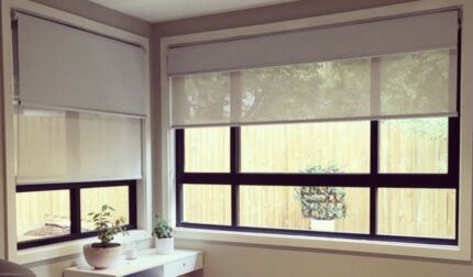 Roman Blinds, Roller Blinds & More! Free Measure & Quote!