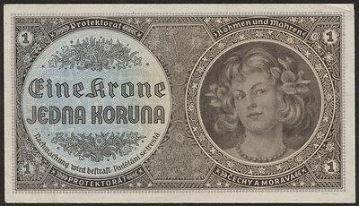 Ro.558a 1 Krone (1940) Böhmen & Mähren (1)