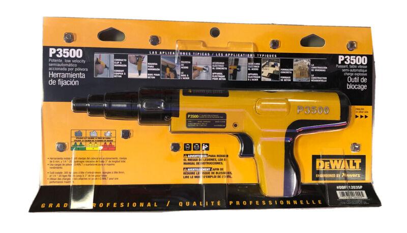Dewalt Semi-Automatic Powder Actuated Fastening Tool - P3500 - New!!!