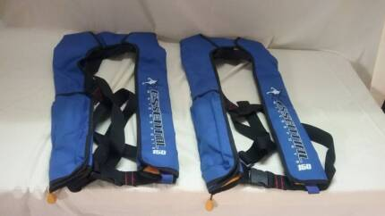 Life Vests, PFD Inflatable Type, Qty. 2