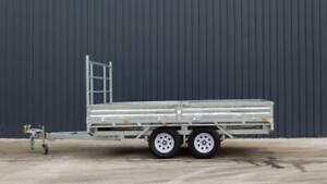 12x7 3.5Tonne Flat Top Trailer FULLY GALVANISED Moss Vale Bowral Area Preview