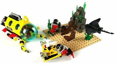 LEGO Town Divers Set # 6442 Sting Ray Explorer 100% COMPLETE from 1997 VINTAGE!