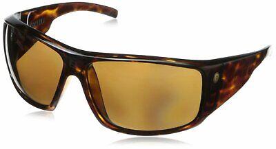 Electric Visual Men's Polarized Backbone Sunglasses - Tortoise/Bronze Lens Electric Gold Lens