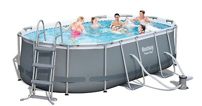 Bestway Oval Frame Pool Set 424 x 250 56620