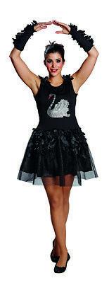 Schwan Tüllkleid Black Swan Schwankleid Kostüm für (Black Swan Kostüm)