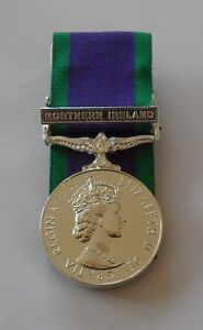 Court-Mounted-Full-Size-GSM-Medal-with-Northern-Ireland-Clasp-Army-Military