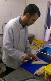 Fish fryer job wanted