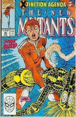 New Mutants # 95 (Rob Liefeld, X-Tinction Agenda part 2) (USA, 1990)