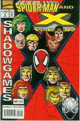 Spiderman and X-Factor: Shadowgames # 3 (of 3) (USA, 1994)
