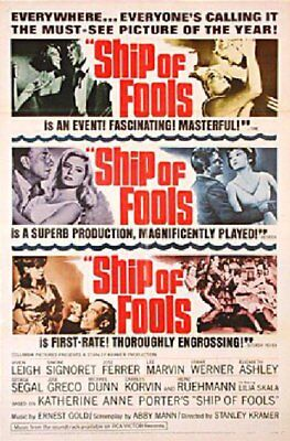 Ship of Fools 1965 U.S. One Sheet Poster