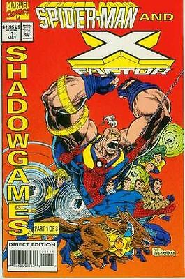 Spiderman and X-Factor: Shadowgames # 1 (of 3) (USA, 1994)