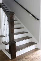 Staining Services, Stainig Staircases Finishings
