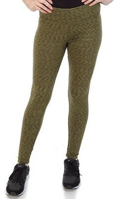 f9eb91a143681 NWT BALLY TOTAL FITNESS WOMENS FLEECE ATHLETIC YOGA LEGGINGS SIZE L for  sale USA