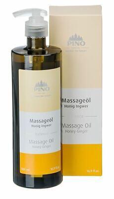 Massageöl Honig Ingwer (Balance) 500 ml von Pino 38170 (GP 11,60 €/ 100 ml)