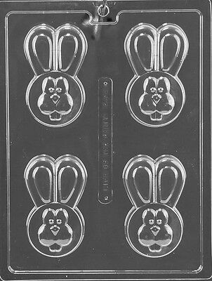 EASTER BUNNY COOKIE mold Chocolate Candy soap making covered oreo cookies E478