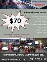 Melli Mechanical $70 Service Deal!! Villawood Bankstown Area Preview