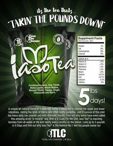 Drink herbal detox tea AND lose weight