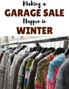Winter Garage Sale with Spin Wheel to Win Prizes !