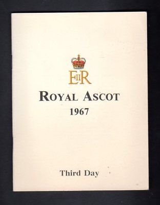 Royal Ascot 1967 Gold Cup Programme
