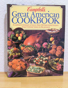 1984 Campbell's Great American Cookbook HC/DJ Book