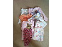 Bundle of girls PJs aged 7-8