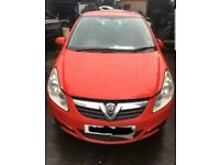 VAUXHALL CORSA D RED BREAKING SPARES OR REPAIR
