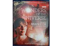 Brian Cox - Wonders of the universe non fiction hardback book