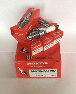4x OEM Laser Iridium Spark Plugs For Honda Chevrolet 9807B-5617W (IZFR6K11)