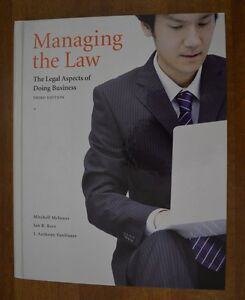 Managing the Law The Legal Aspects of Doing Business-3rd Edition