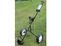 Prodrive Lightweight Foldable Golf Trolley with Removable Wheels